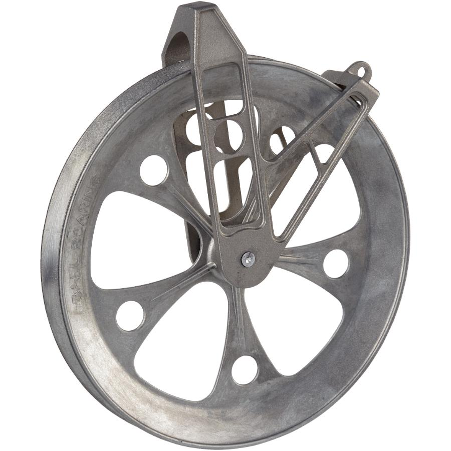 """Wright Aluminum 8"""" Zinc Deluxe Clothesline Pulley"""