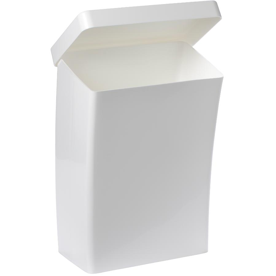 Glad 14.6L White Roommate Garbage Can