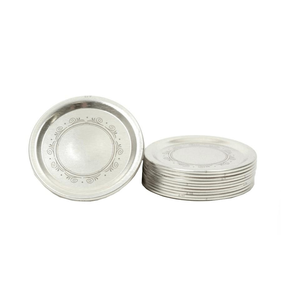 Bernardin 12 Pack Regular Decorated Mason Jar Lids