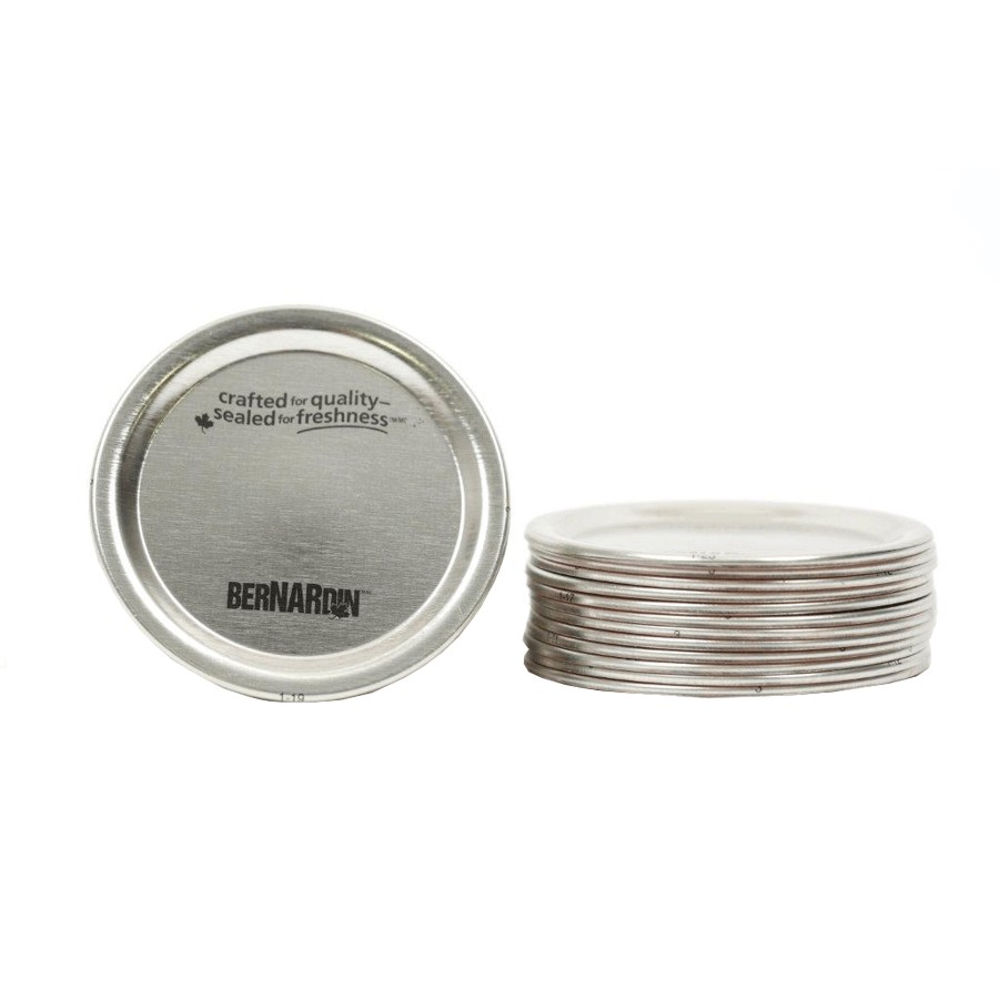 Bernardin 12 Pack Regular Mason Jar Lids