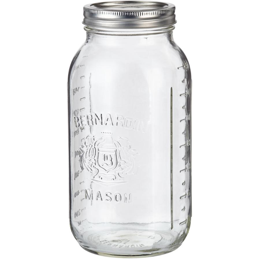 Bernardin 6 Pack 1.9L Wide Mason Jars