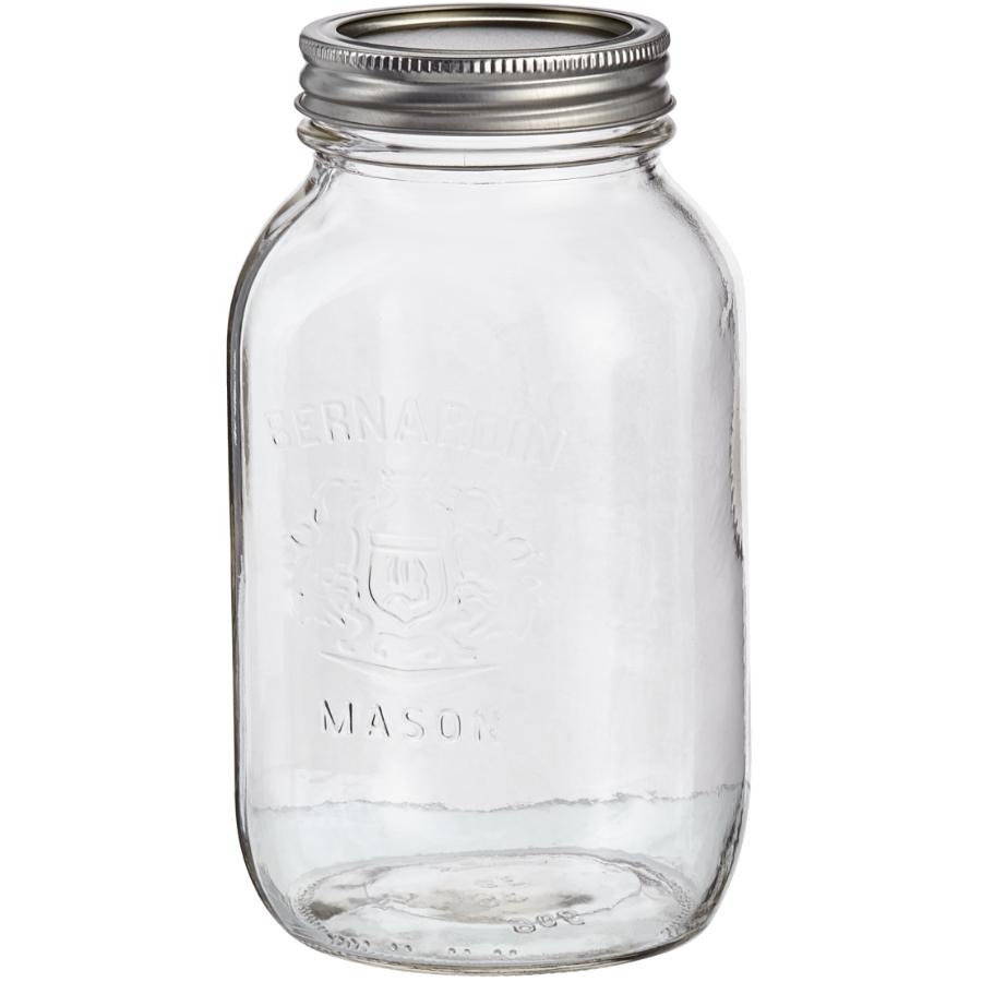 Bernardin 12 Pack 1L Regular Mason Jars