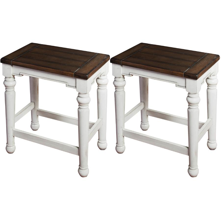 "Sunny Designs 2 Pack 24"" Bourbon County Bar Stool"