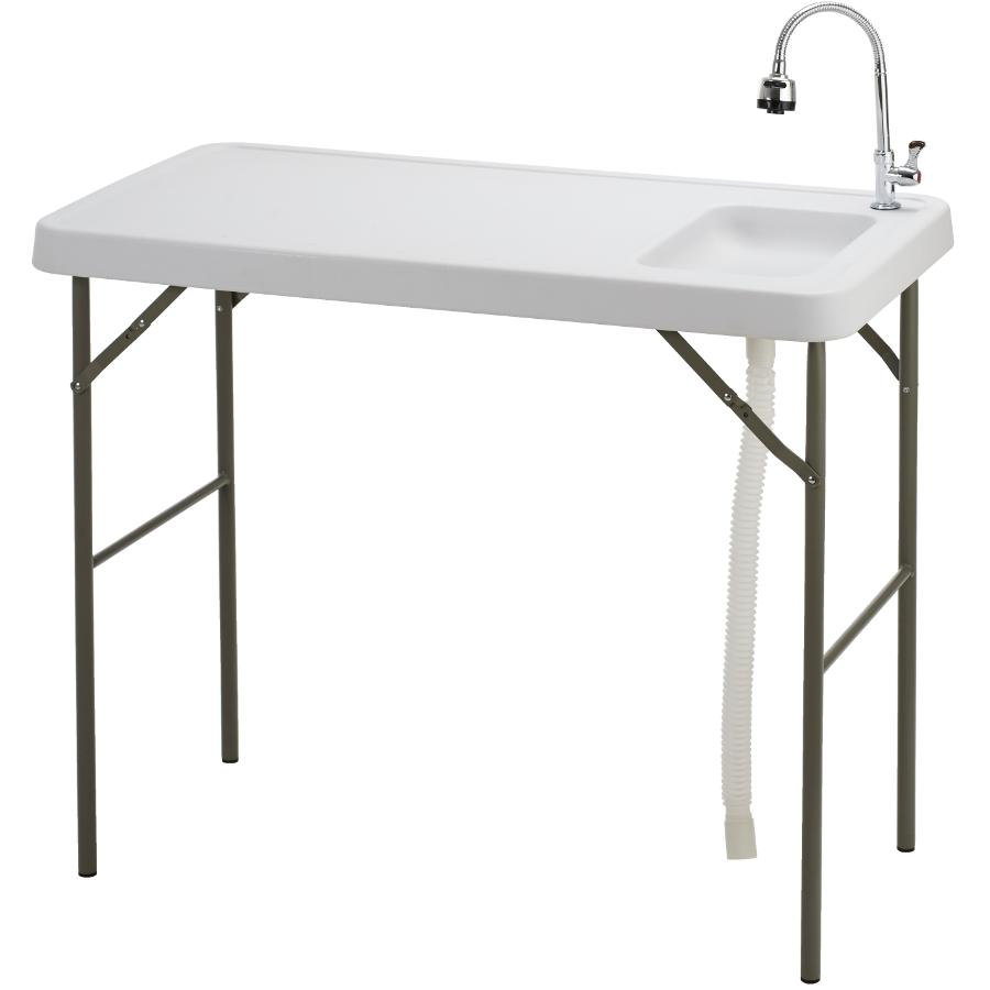 Generic Multi-Purpose Folding Table, with Sink
