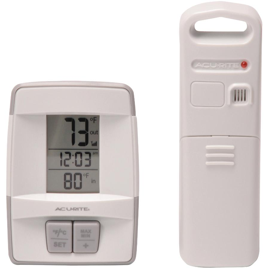 Acu-rite 165' Indoor/Outdoor Wireless Thermometer