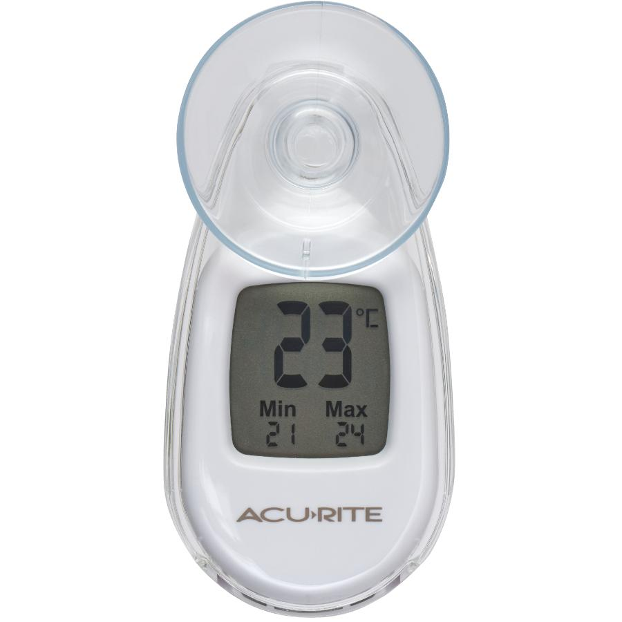 Acu-rite Indoor/Outdoor Digital Suction Thermometer
