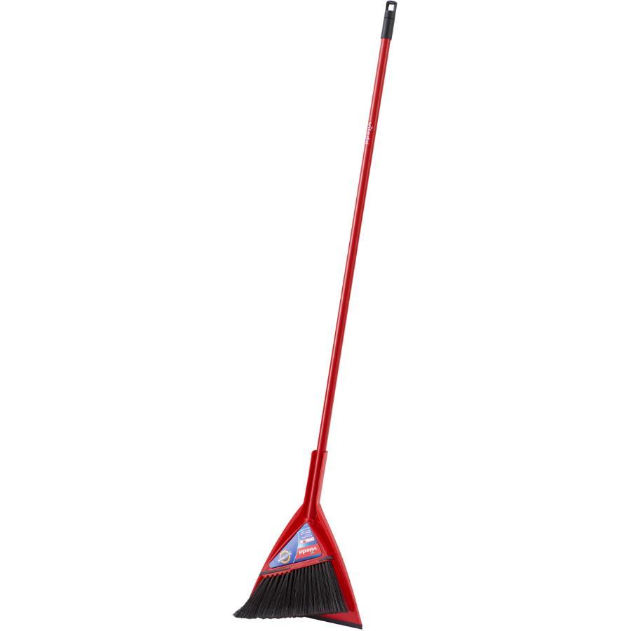 Vileda Angle Broom, with Dust Pan