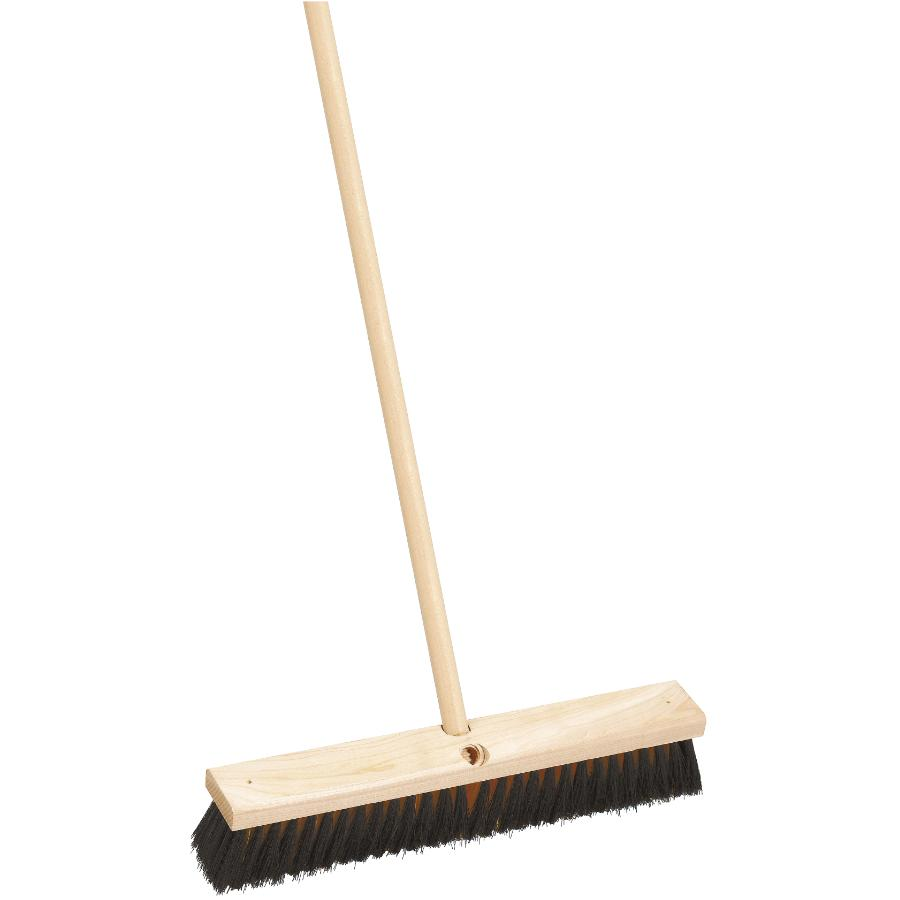 "Homewares 18"" All Purpose Push Broom, with 54"" Handle"
