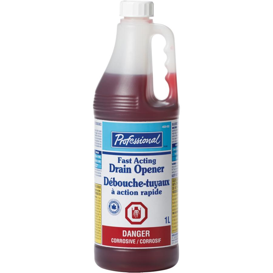 Professional: 1L Fast Acting Drain Cleaner