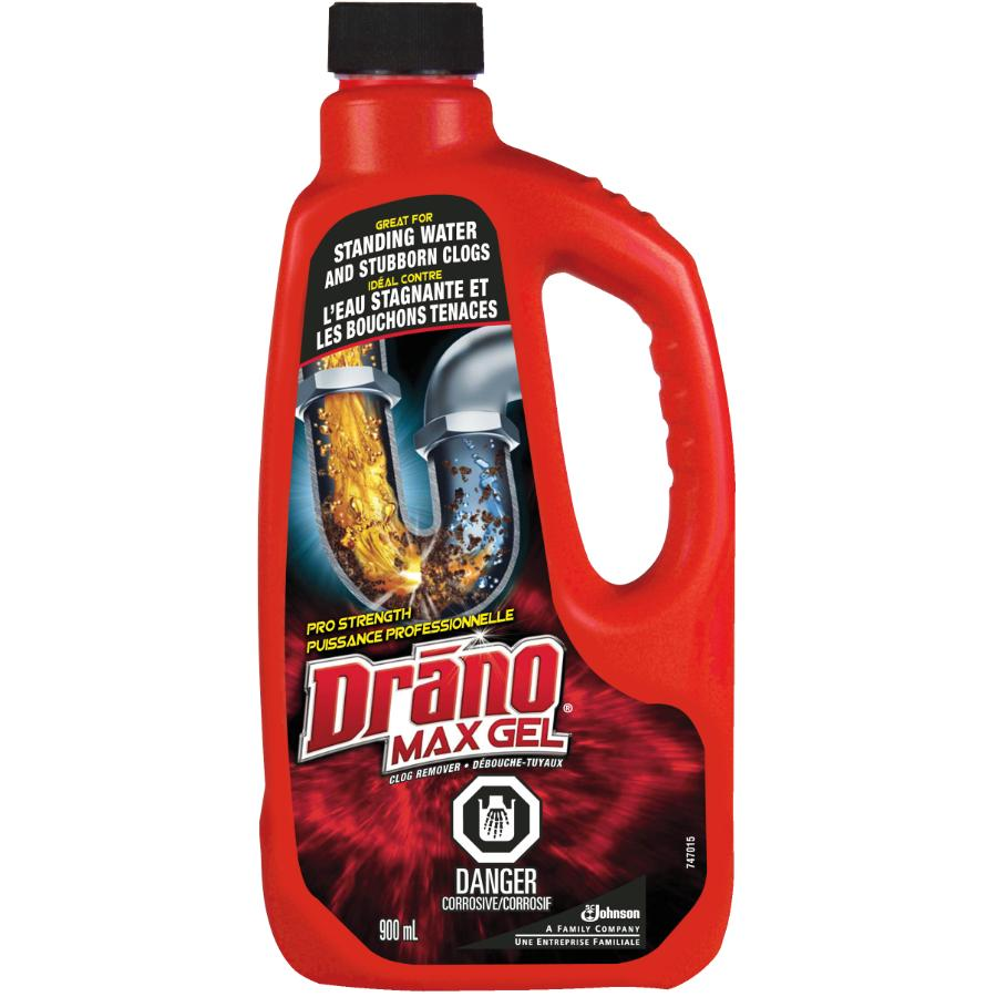 Drano: 900mL Max Drain Cleaner :: Fennell & Gage Home Hardware