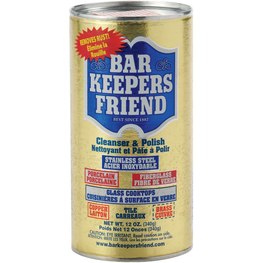 Bar Keepers Friend 12oz Powder Rust Cleaner and Polish