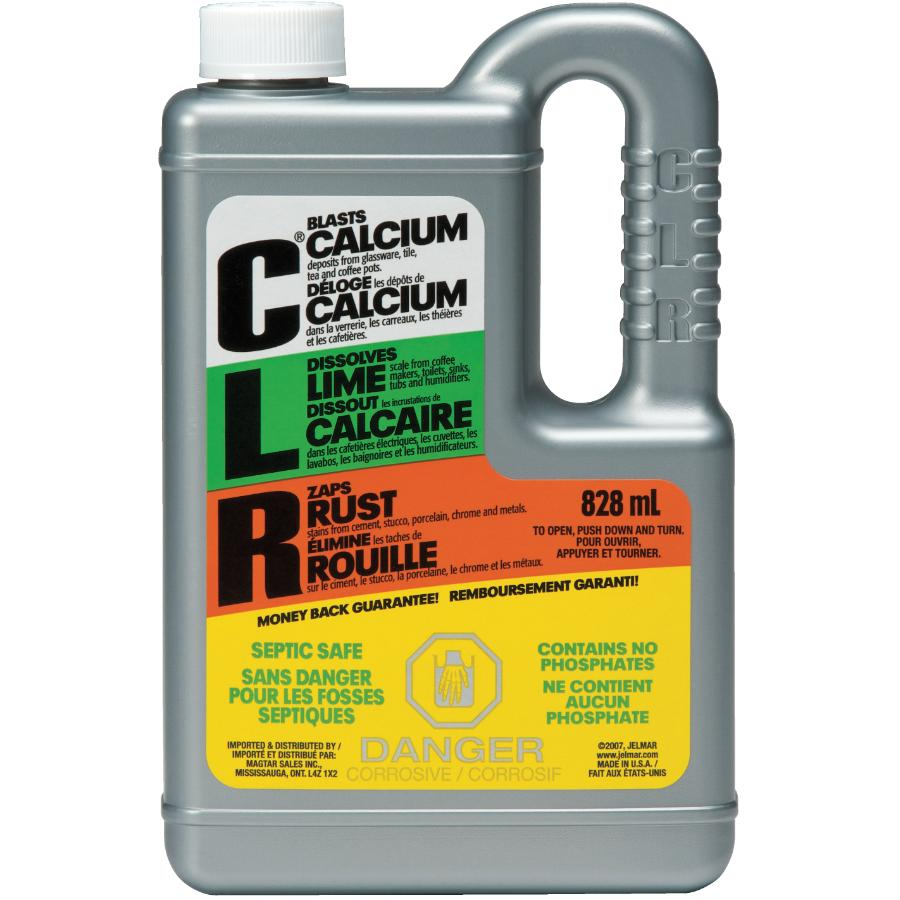 C.l.r.: 828mL Calcium, Lime and Rust Remover