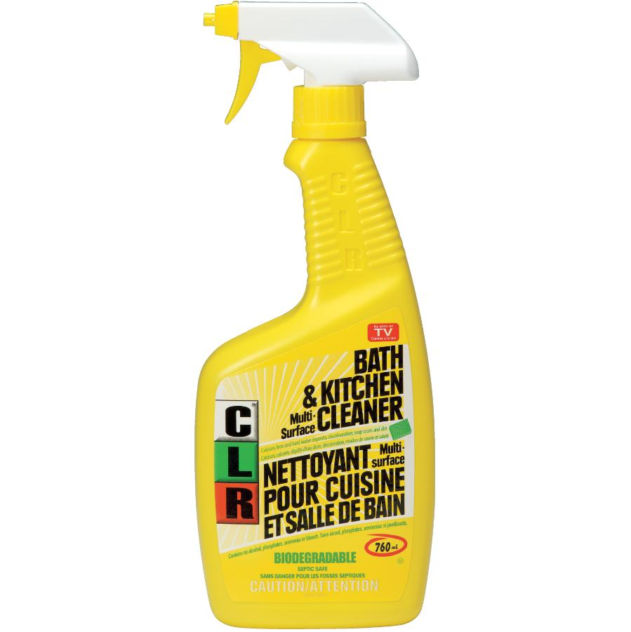 C.l.r. 760mL Bathroom and Kitchen Cleaner