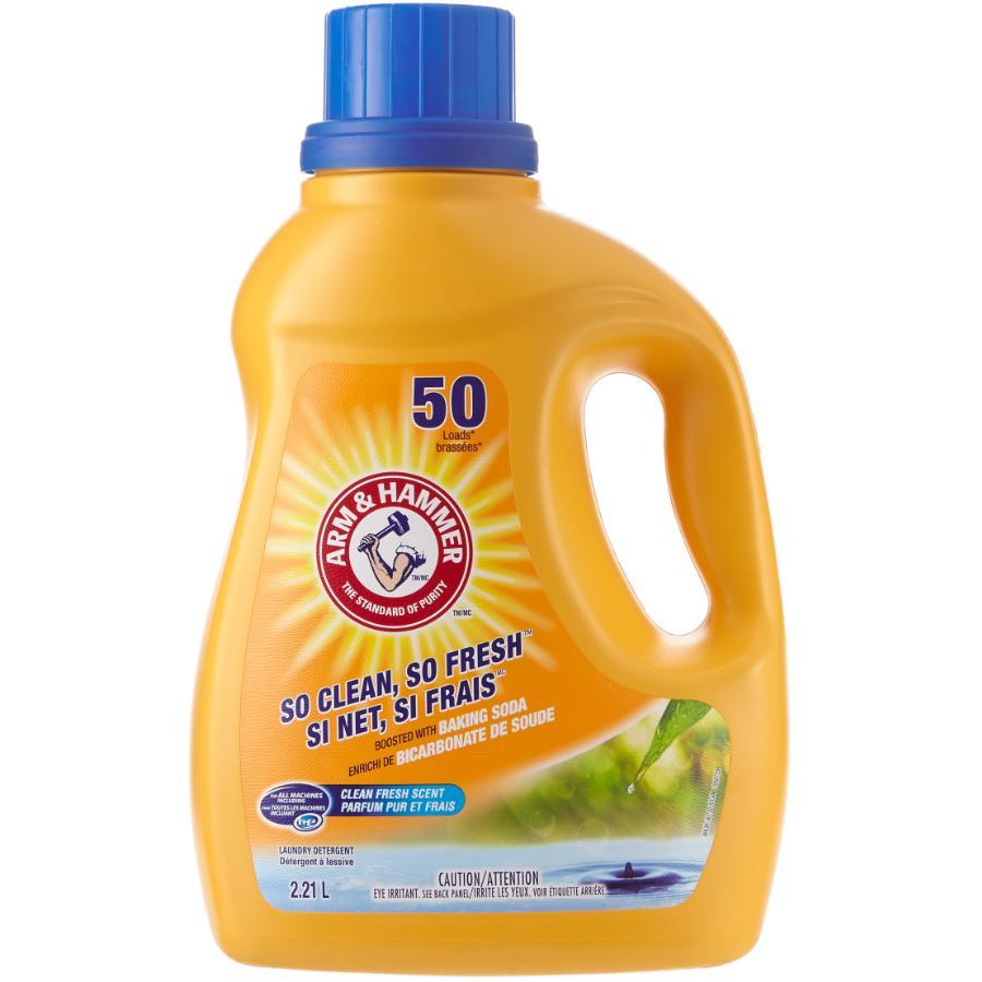 Arm & Hammer 2.21L Clean Fresh High Efficiency Laundry Detergent