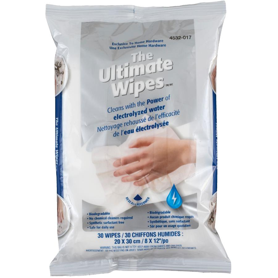 THE ULTIMATE 30 Pack All Purpose Wipes