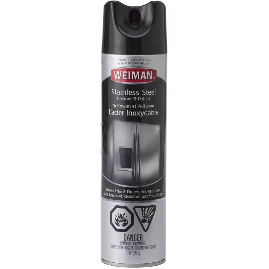 WEIMAN 12oz Stainless Steel Cleaner and Polish