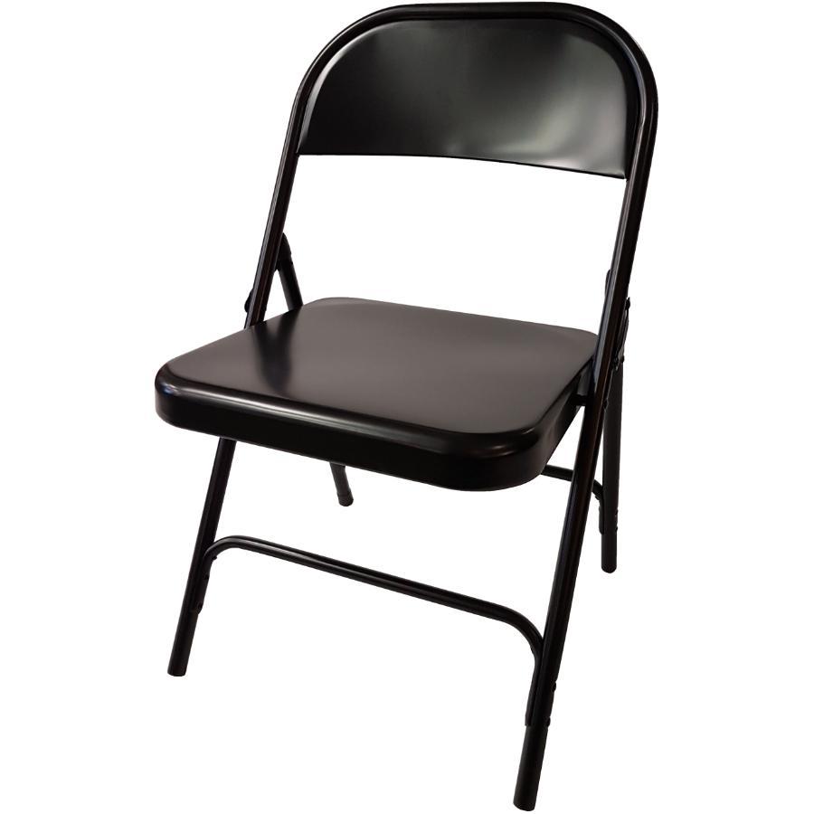 Dura Black Folding Chair