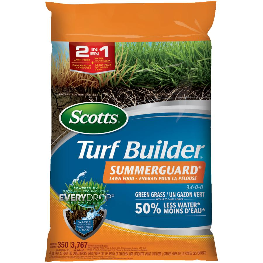 Scotts 4kg 34-0-0 Summer Fertilizer