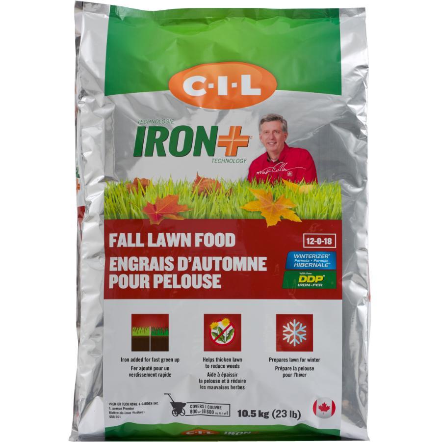 C-i-l: 10.5kg 12-0-18 Fall Fertilizer