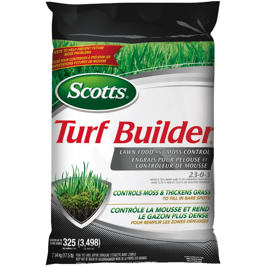 Scotts 7.94kg Moss Control and Lawn Fertilizer