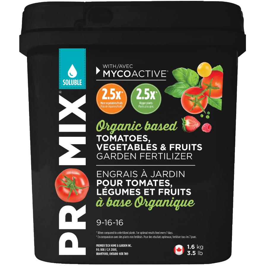 Pro-mix 1.6kg 09-16-16 Water Soluble Fruit and Vegetable Fertilizer