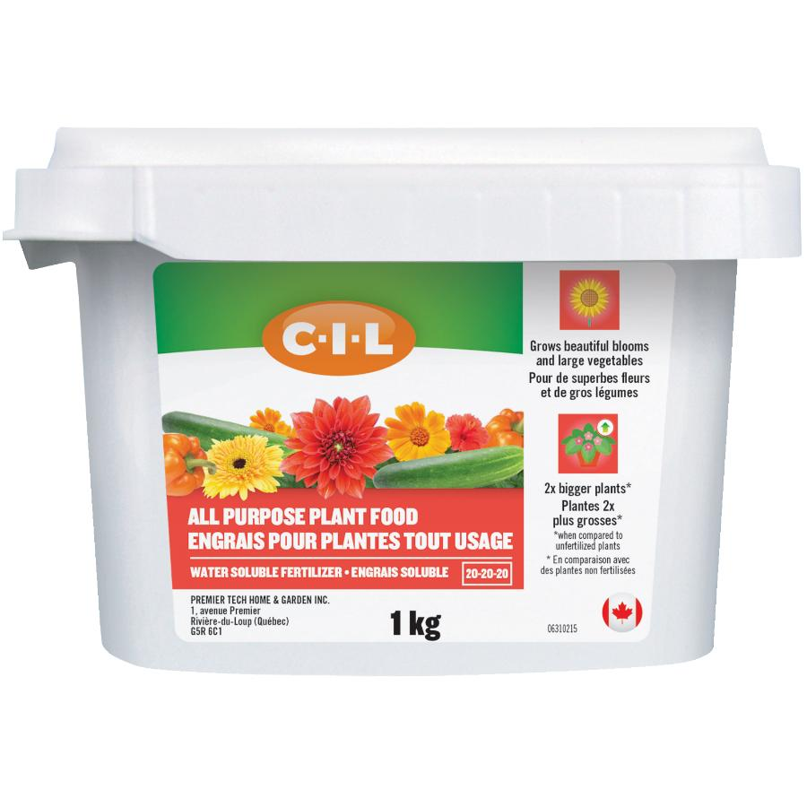 C-i-l 20 20 20 Fertilizer - All Purpose Plant Food, 1 kg