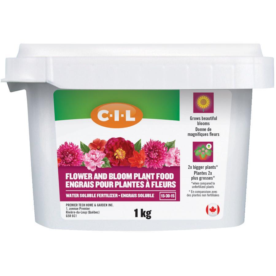 C-i-l: 1kg 15-30-15 Water Soluble Flower Blooms Fertilizer