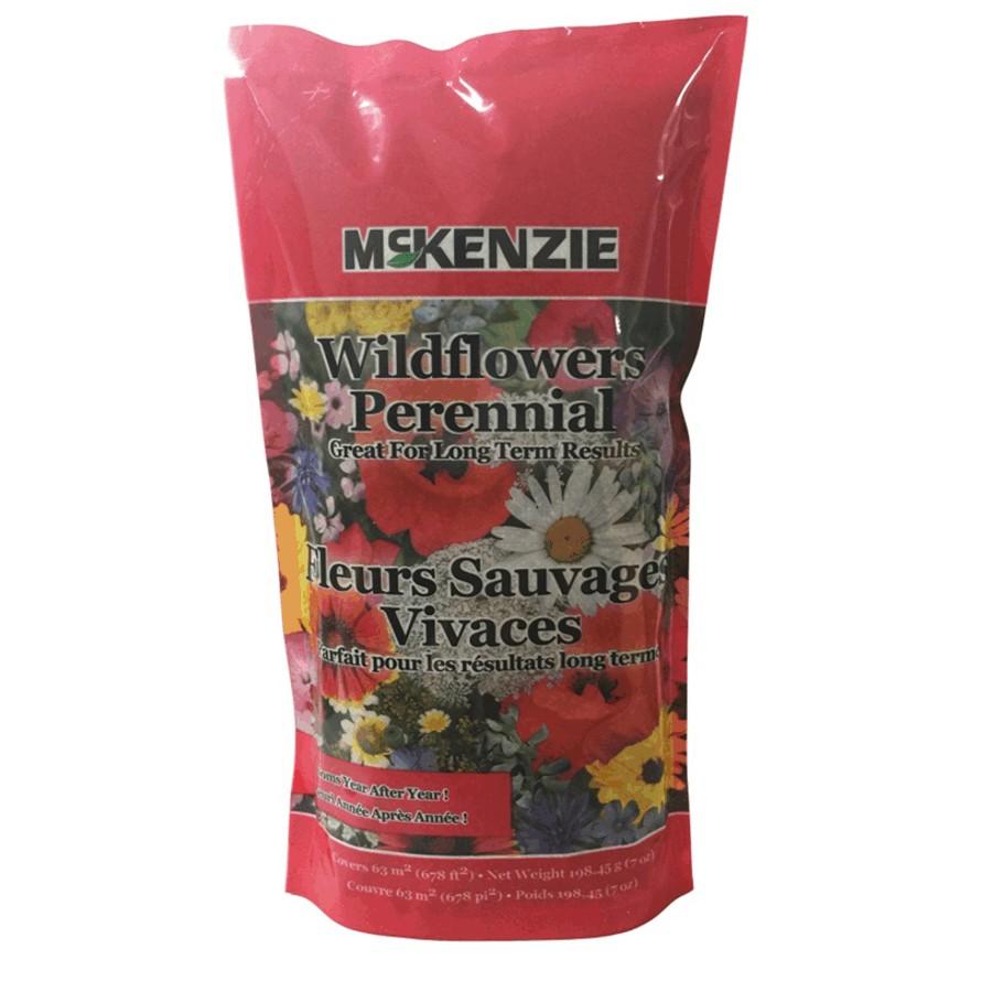 Mckenzie 198g Wild Flower Perennial Mix Flower Seeds