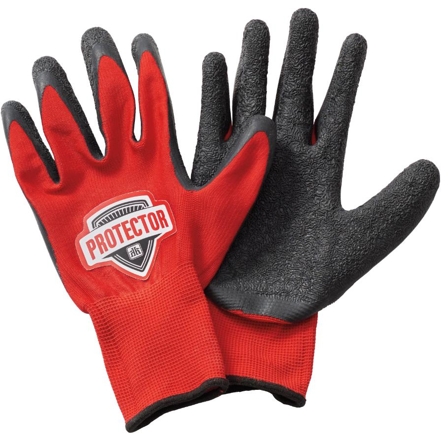 Protector: Large Latex Coated Polyester Work Gloves