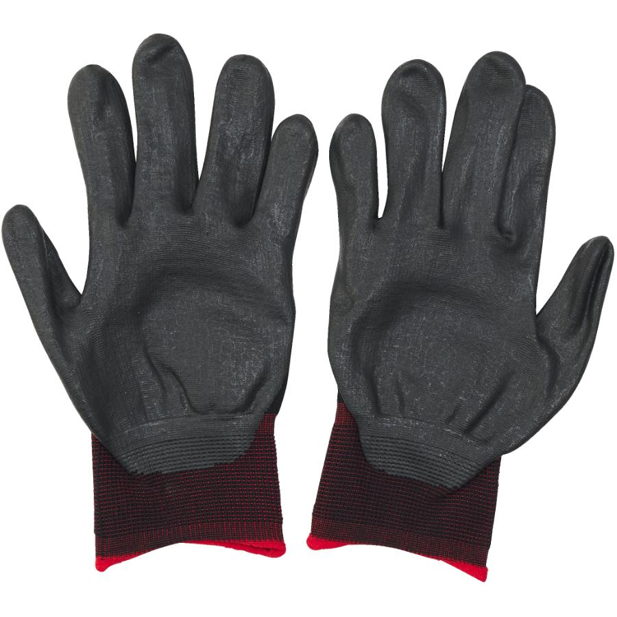Protector: Medium Foam Coated Nitrile/Polyester Gloves