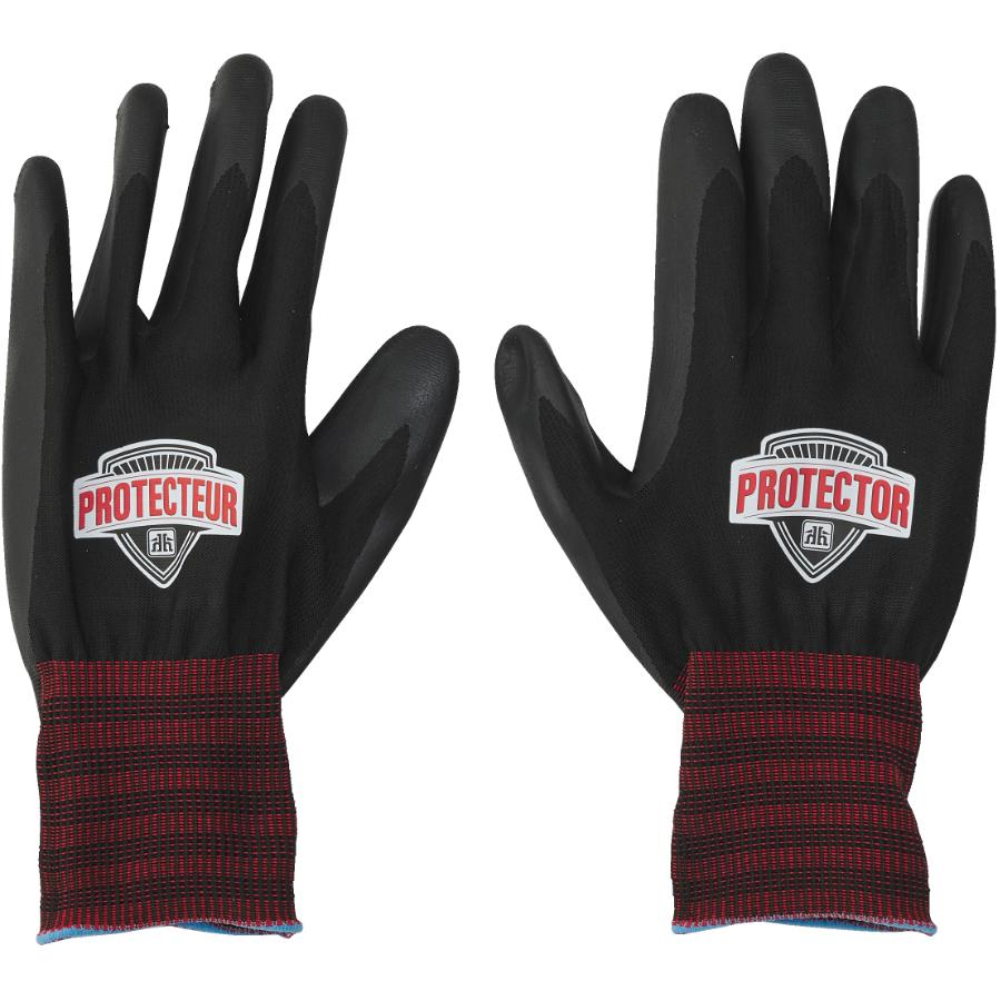 Protector Large Foam Coated Nitrile/Polyester Gloves