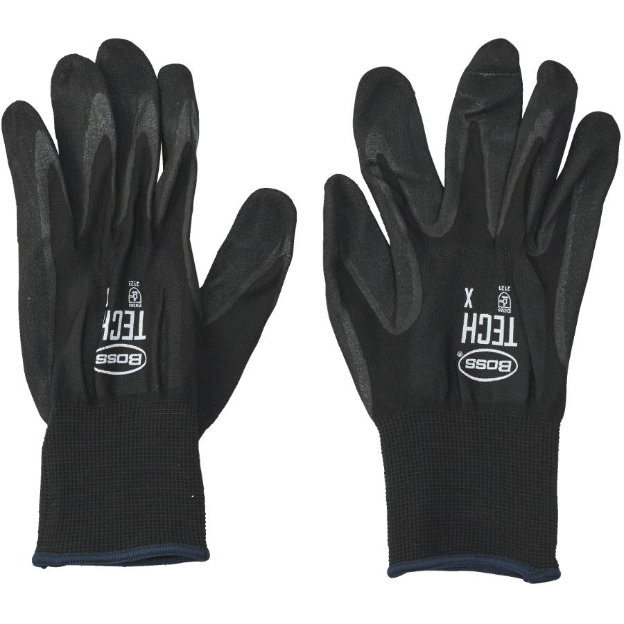 Protector Extra Large Foam Coated Nitrile/Polyester Gloves