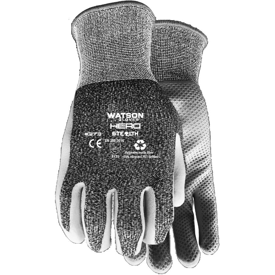 Watson Gloves Men's Hero Garden Gloves - with Foam Nitrile Palms, Extra Large