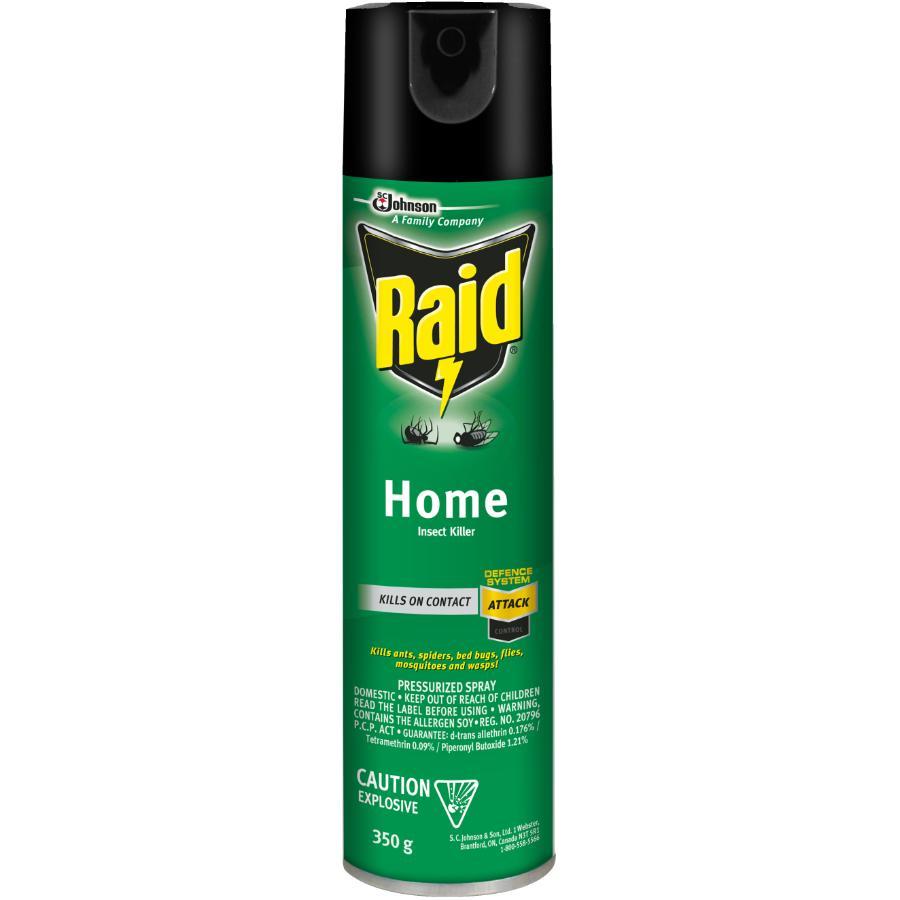 Raid 350g Home Insect Killer Spray