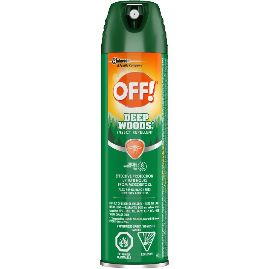 Off: Deep Woods Insect Repellent - 230 g