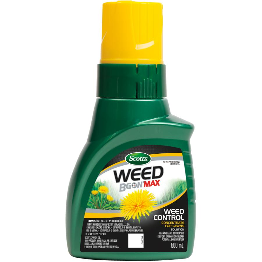 Scotts 500mL Weed B Gon Max Weed Control Herbicide Concentrate for Lawns