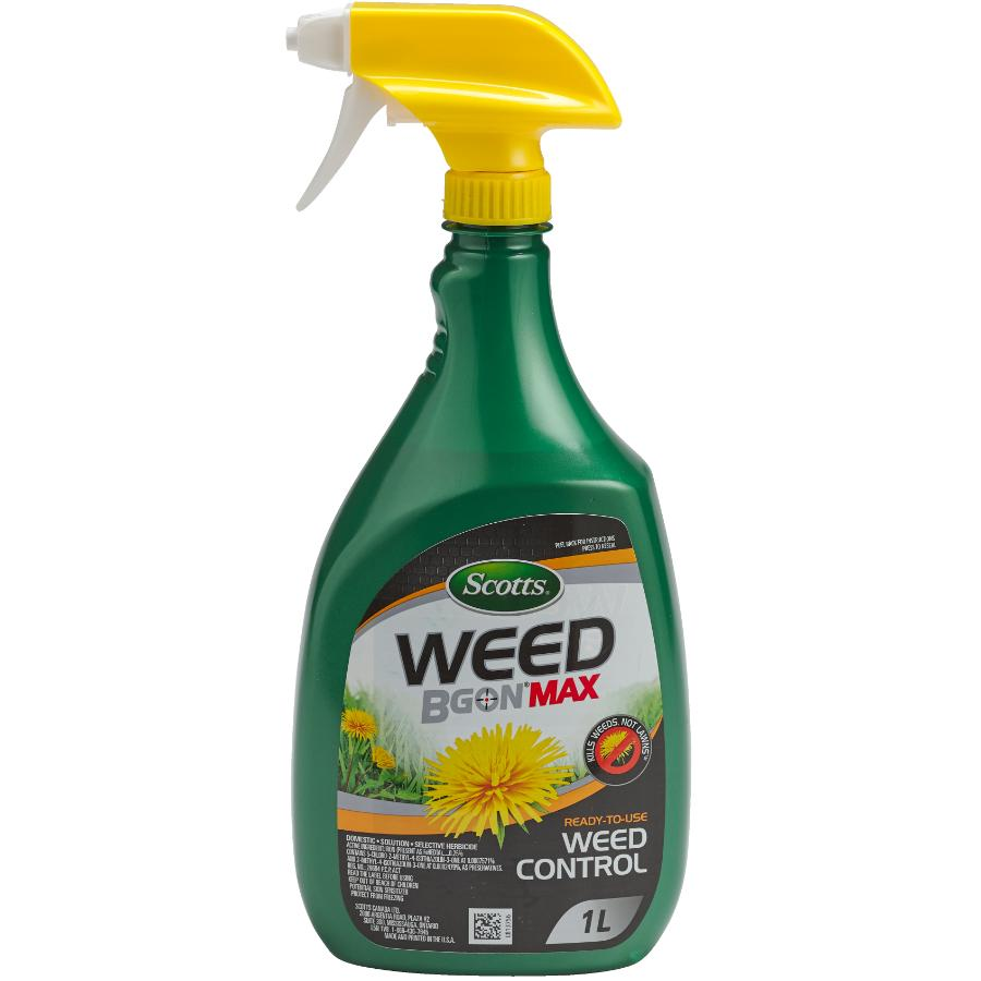 Scotts: 1L Ready to Use Weed B Gon Max Weed Control Herbicide