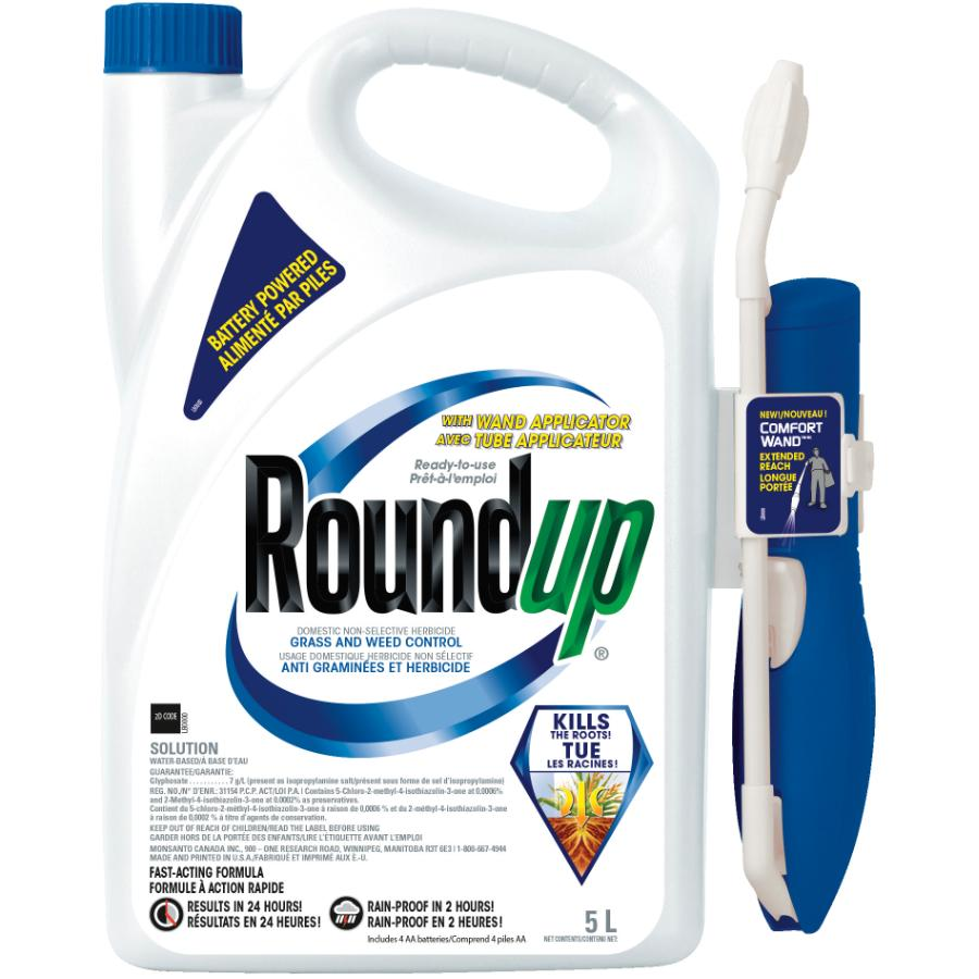 Roundup 5L Pump N Go Ready to Use Landscape and Hard Surface Weed Control Herbicide
