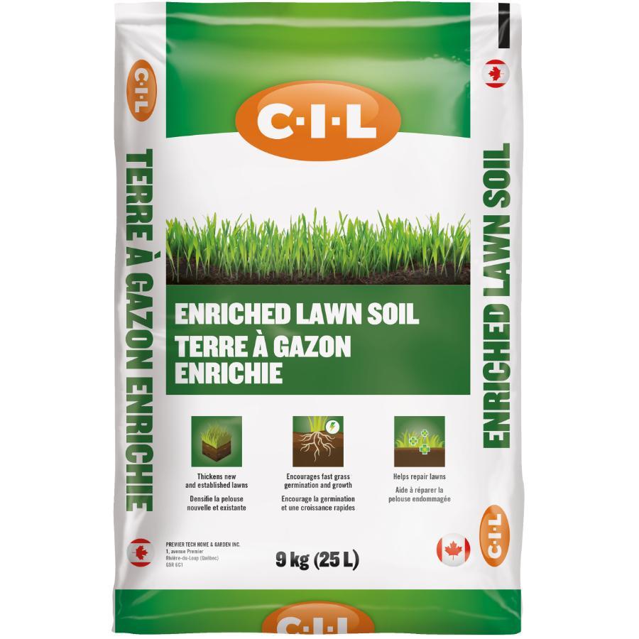 C-i-l Enriched Lawn Soil - 25L