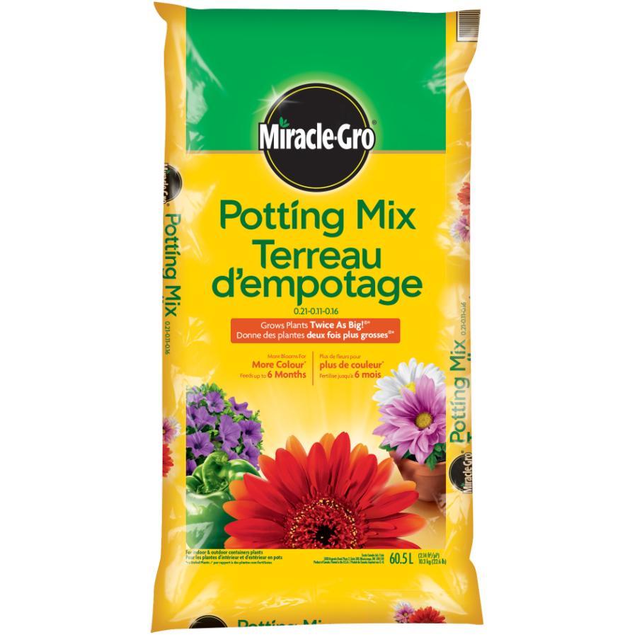 Miracle-gro 60.5L All Purpose Potting Soil Mix