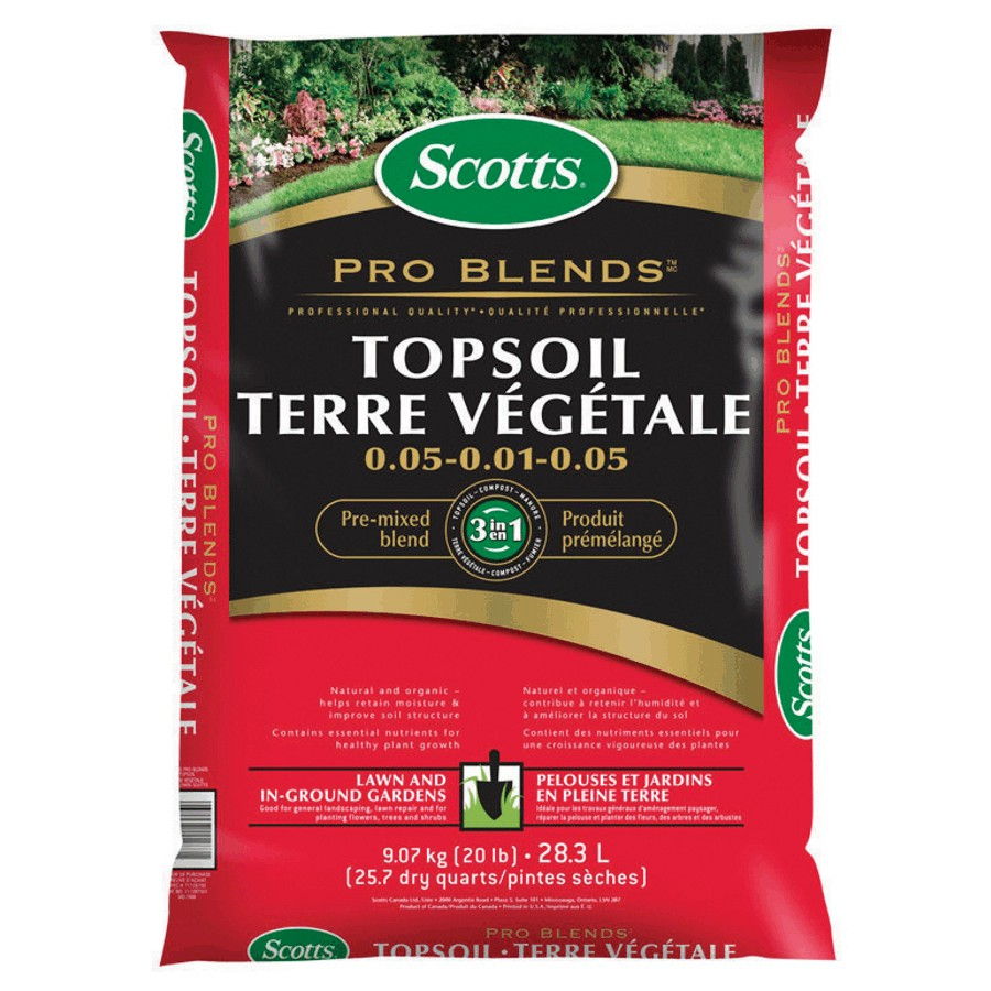 Scotts: 28L Pro Blend Top Soil
