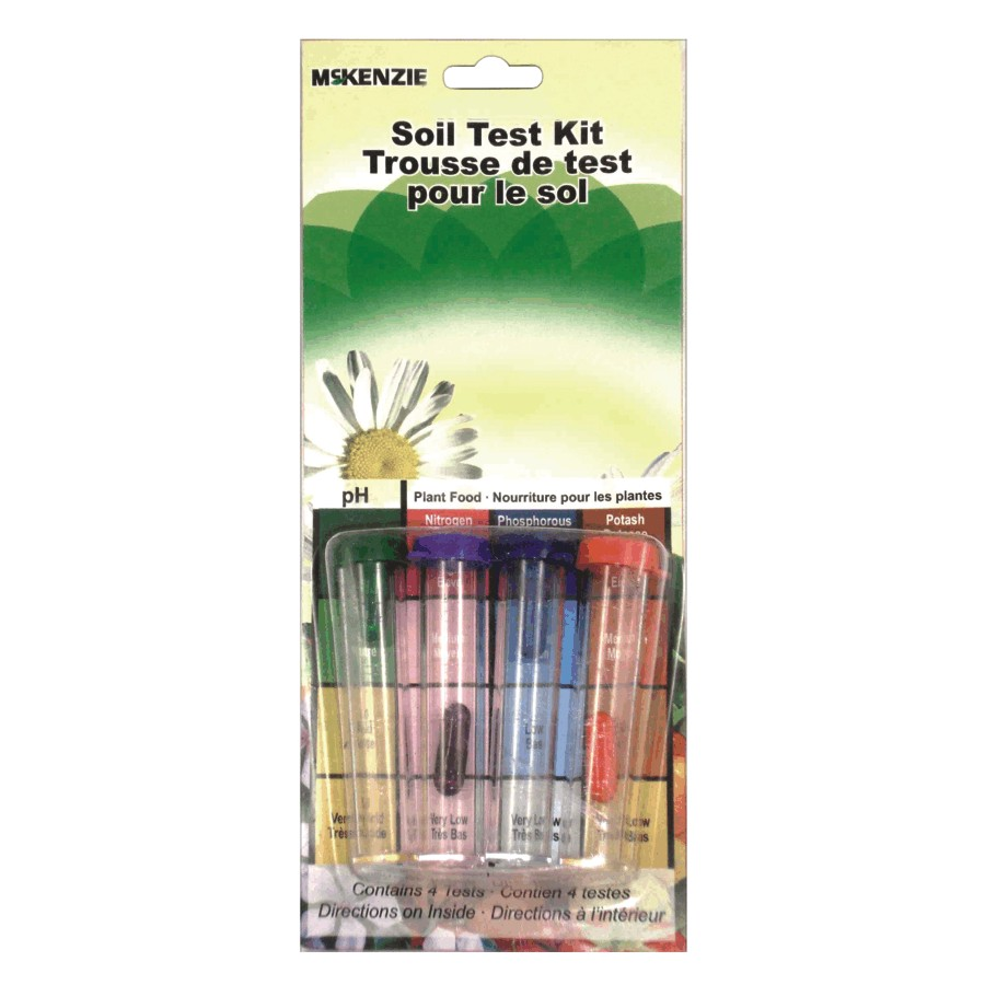 Mckenzie Four Vial Soil Tester Kit