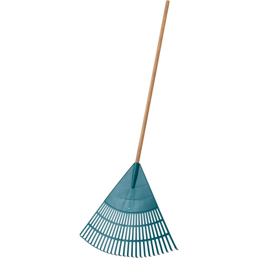 """Home Gardener: 26 Tine 24"""" Poly Fan Rake"""