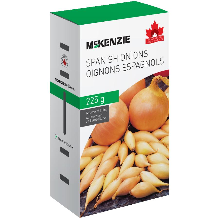 Mckenzie: 225g Spanish Onion Bulbs