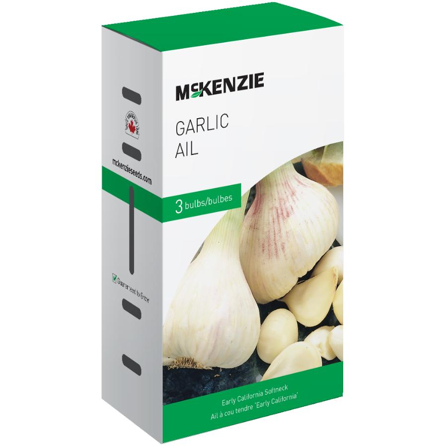 Mckenzie: 3 Pack Garlic Bulbs