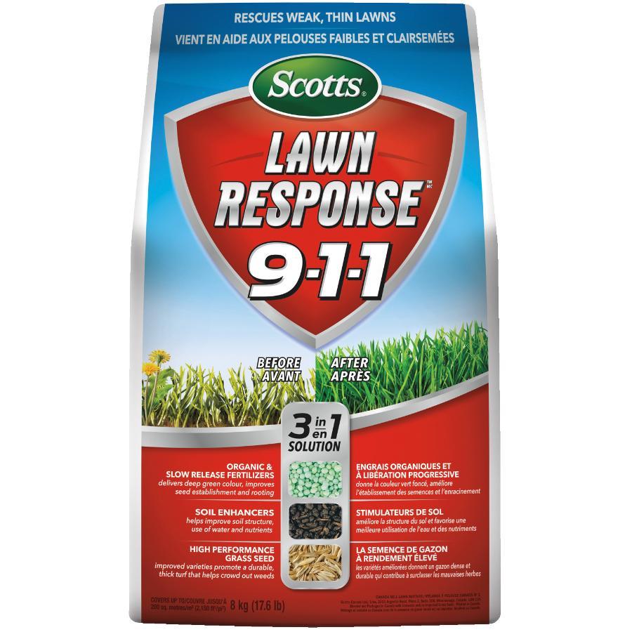SCOTTS 8kg Lawn Response 911