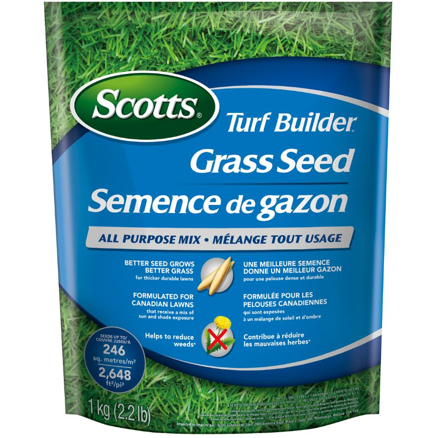 Scotts 1kg Turf Builder All Purpose Grass Seed
