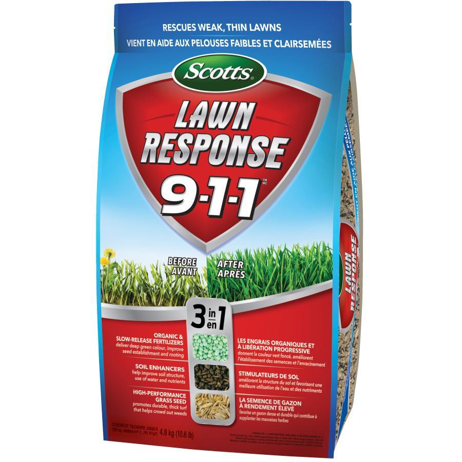 Scotts 4.8kg Lawn Response 911