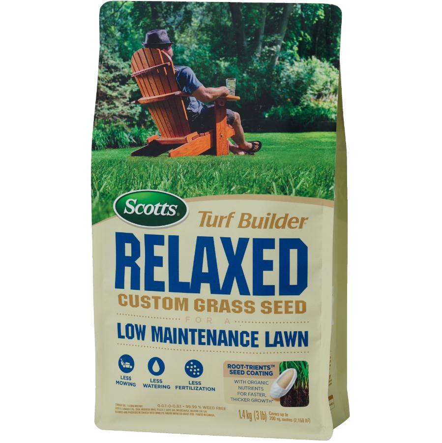 Scotts 1.4kg Turf Builder Relaxed Grass Seed
