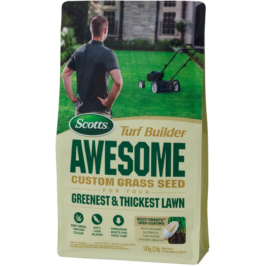 Scotts 1.4kg Turf Builder Awesome Grass Seed
